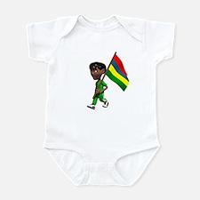 Mauritius Boy Infant Bodysuit