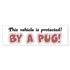 This vehicle is protected! by a Pug (Bumper)