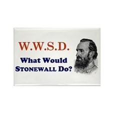 What Would STONEWALL Do Rectangle Magnet (10 pack)