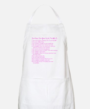 You grew up in the 80s if BBQ Apron