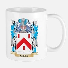 Kelly- Coat of Arms - Family Crest Mugs