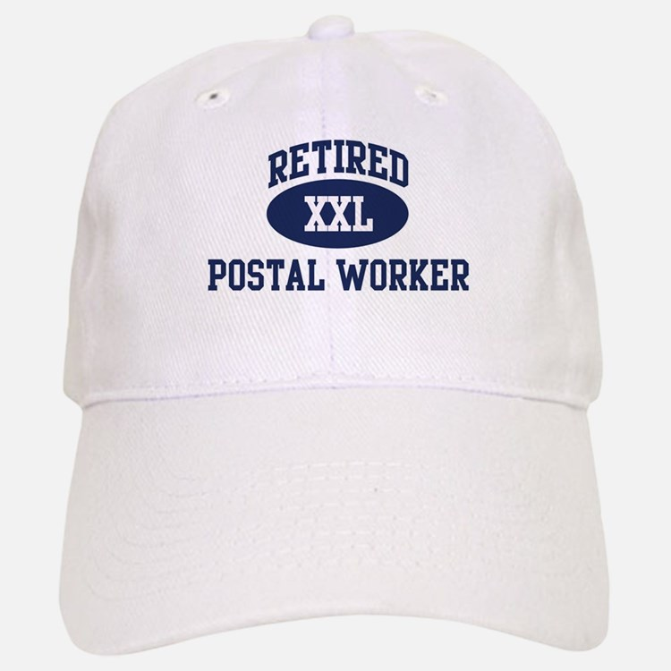 Retired Postal Worker Baseball Baseball Cap
