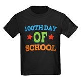 100 day of school Kids T-shirts (Dark)