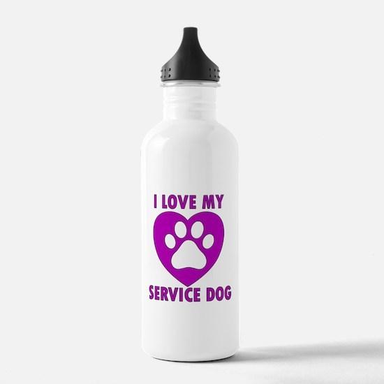 SERVICE DOG Water Bottle