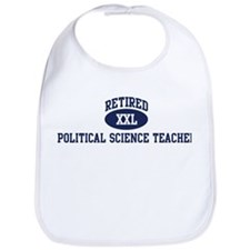Retired Political Science Tea Bib