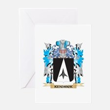 Kendrick Coat of Arms - Family Cres Greeting Cards