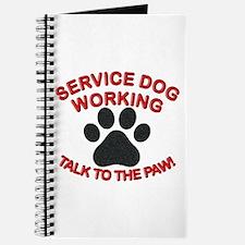 SERVICE DOG PAW Journal