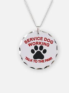 SERVICE DOG PAW Necklace