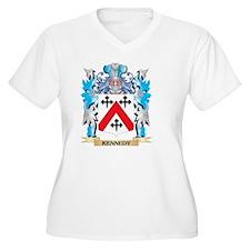Kennedy- Coat Plus Size T-Shirt