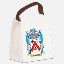 Kennedy- Coat of Arms - Family Cr Canvas Lunch Bag