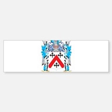 Kennedy- Coat of Arms - Family Cres Bumper Bumper Bumper Sticker