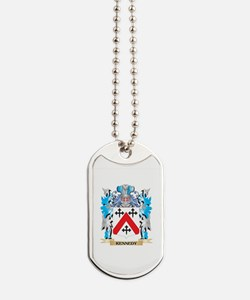 Kennedy- Coat of Arms - Family Crest Dog Tags