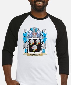 Kennedy Coat of Arms - Family Cres Baseball Jersey