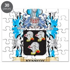 Kennedy Coat of Arms - Family Crest Puzzle