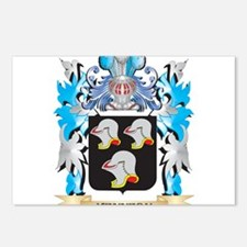 Kennedy Coat of Arms - Fa Postcards (Package of 8)