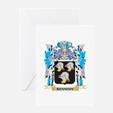 Kennedy Coat of Arms - Family Crest Greeting Cards