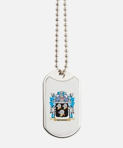 Kennedy Coat of Arms - Family Crest Dog Tags