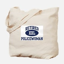 Retired Policewoman Tote Bag