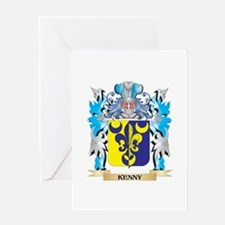 Kenny Coat of Arms - Family Crest Greeting Cards