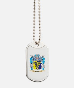Kenny Coat of Arms - Family Crest Dog Tags