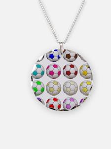 Soccer Balls Necklace
