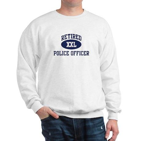 Retired Police Officer Sweatshirt