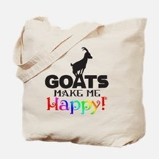 GOATS Make me Happy Tote Bag