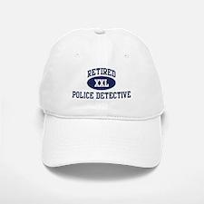Retired Police Detective Baseball Baseball Cap