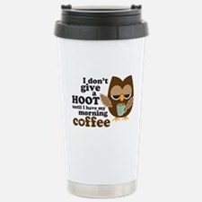 Cute Hoot Travel Mug