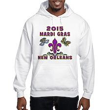 Mardi Gras 2015 New Orleans Hoodie