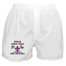 Mardi Gras 2015 New Orleans Boxer Shorts