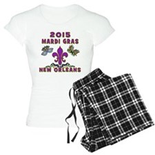 Mardi Gras 2015 New Orleans Pajamas
