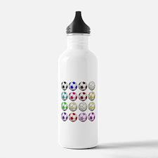 Soccer Balls Water Bottle
