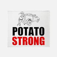 Potato Strong Throw Blanket