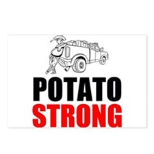 Potato Strong Postcards (Package of 8)