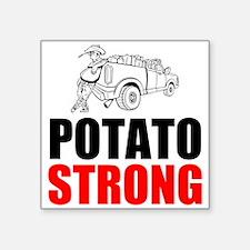 Potato Strong Sticker