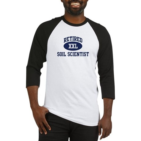 Retired Soil Scientist Baseball Jersey