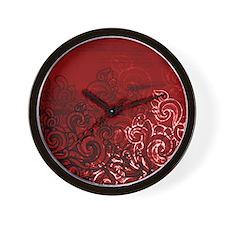 Unique Curl Wall Clock