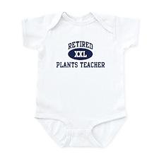 Retired Plants Teacher Infant Bodysuit