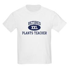 Retired Plants Teacher T-Shirt