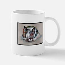 Sleeping Boston Terrier Mug
