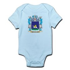 Kesseler Coat of Arms - Family Crest Body Suit