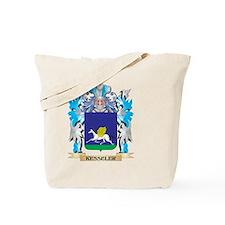Kesseler Coat of Arms - Family Crest Tote Bag