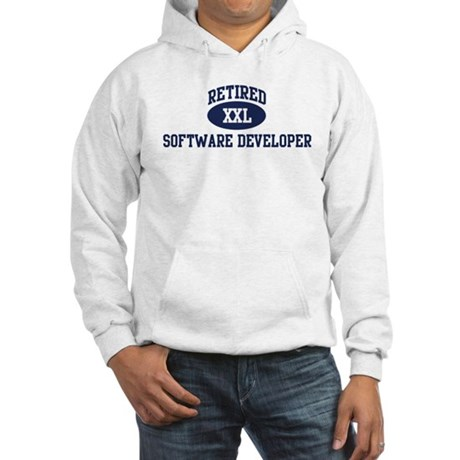 Retired Software Developer Hooded Sweatshirt
