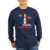 Paris france Long Sleeve T Shirts