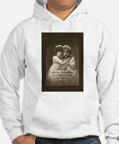 Friends Inspirational Quote Vintage girls Hoodie S