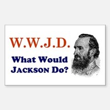 What Would JACKSON Do Rectangle Decal