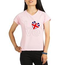 White British LOVE Performance Dry T-Shirt