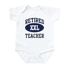 Retired Teacher Infant Bodysuit