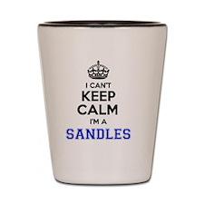 Sandles Shot Glass